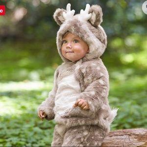 Pottery barn baby deer costume